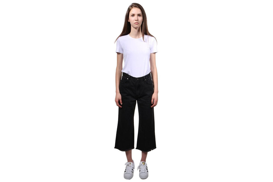 ACT CASUAL DENIM CULOTES WOMENS SOFTGOODS MINK PINK
