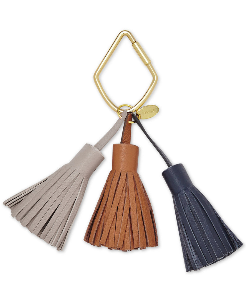 Fossil Tassel Leather Bag Charm - PitaPats.com