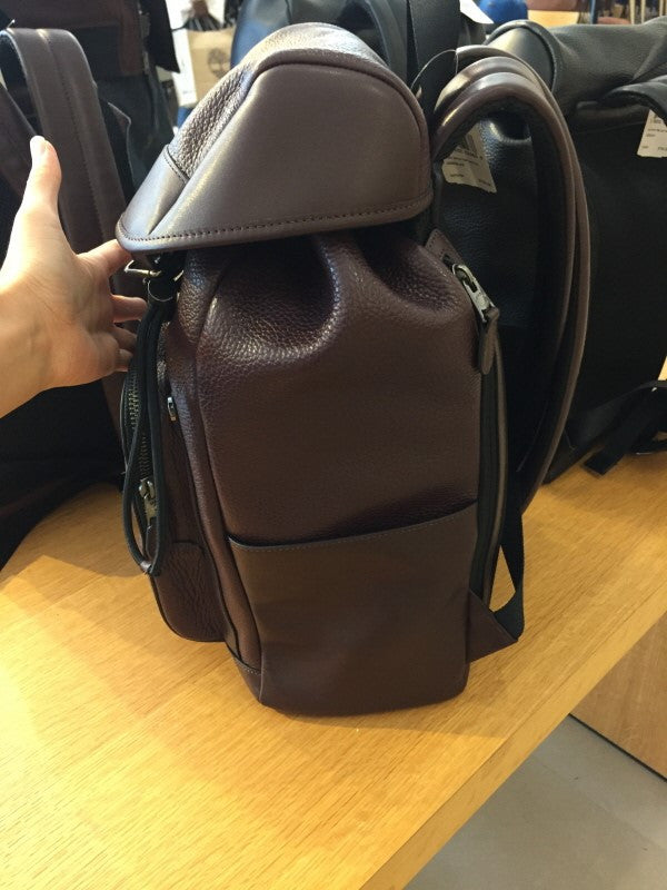 COACH HENRY BACKPACK IN PEBBLE LEATHER - PitaPats.com