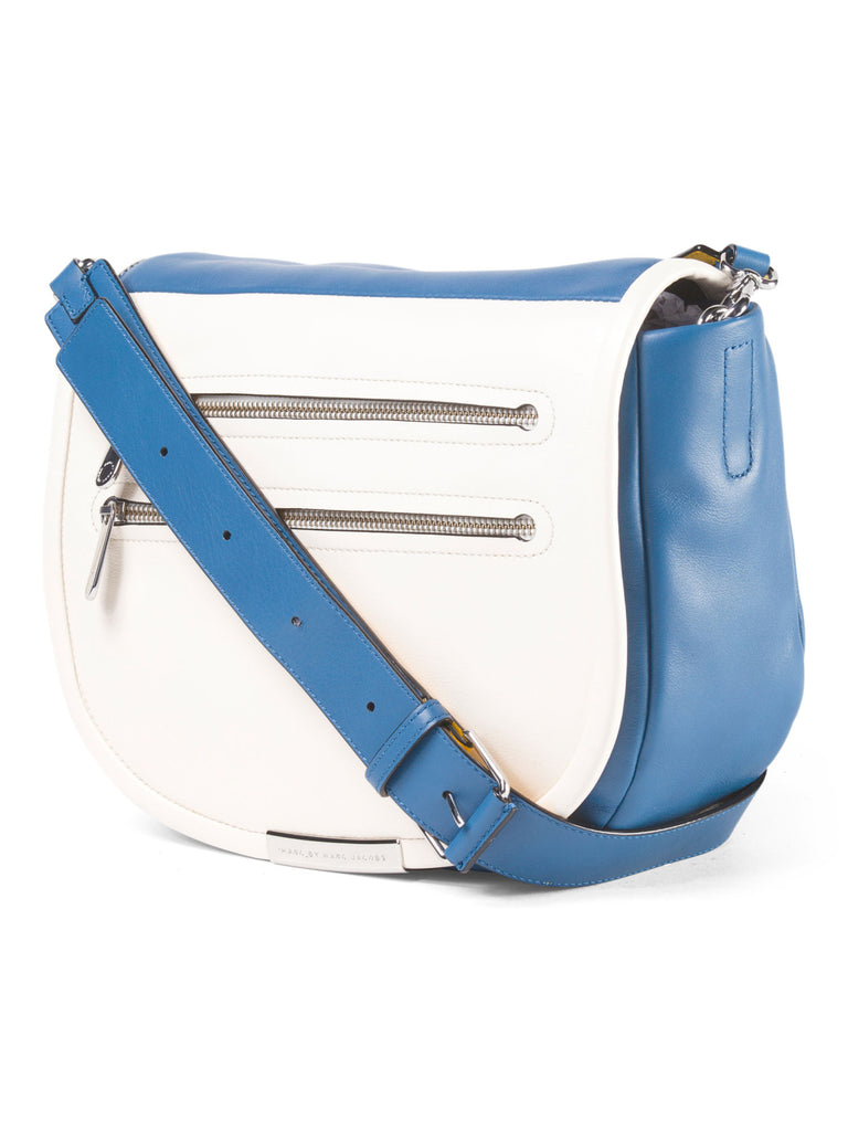 MARC BY MARC JACOBS Leather Luna Messenger - PitaPats.com