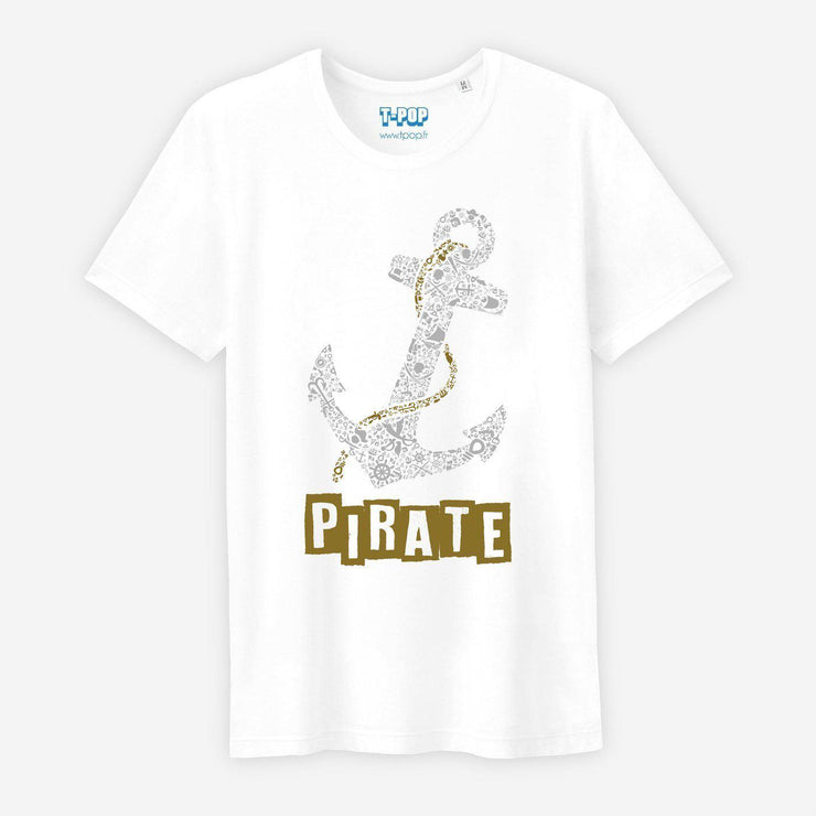 T-shirt Pirate - Homme par T-Pop