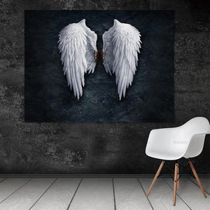 Angel Wings Wall Art Canvas - Nice & Cool