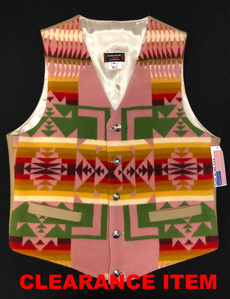 Native Vest, Chief Joseph Antique Rose