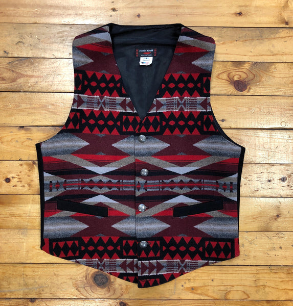 Native Vest, La Paz Scarlet
