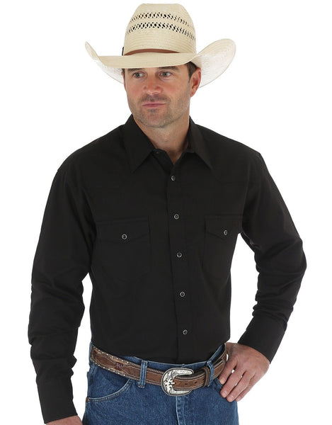 Wrangler Long Sleeve, Black