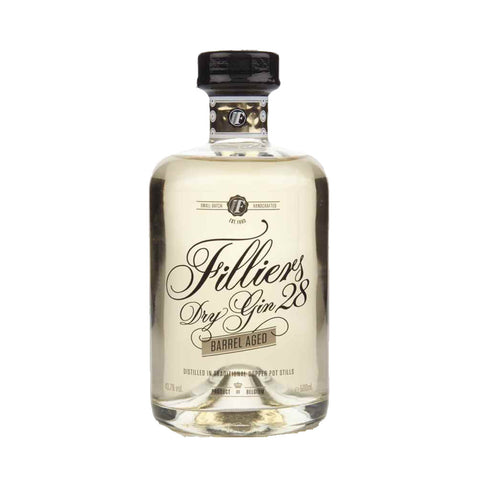Fillier's Barrel Aged Gin 500ml