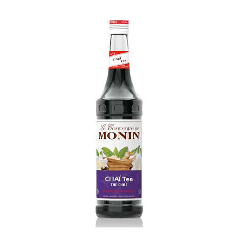 Monin Chai Tea Syrup -700ml Syrups - Drinkka Alcohol Delivery Best Whiskey Wine Gin Beer Vodkas and more for Parties in Makati BGC Fort and Manila | Bevtools Bar and Beverage Tools