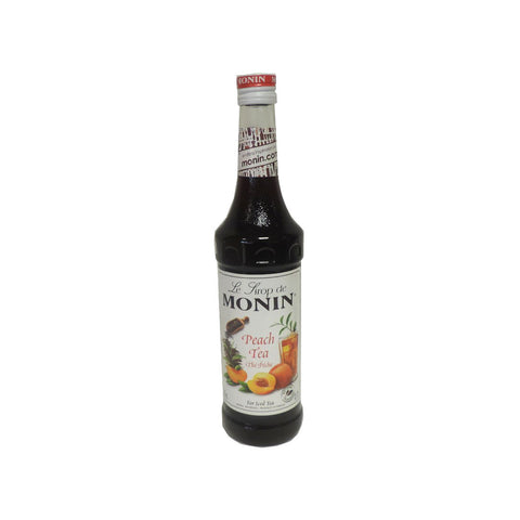Monin Peach Tea Syrup -700ml Syrups - Drinkka Alcohol Delivery Best Whiskey Wine Gin Beer Vodkas and more for Parties in Makati BGC Fort and Manila | Bevtools Bar and Beverage Tools