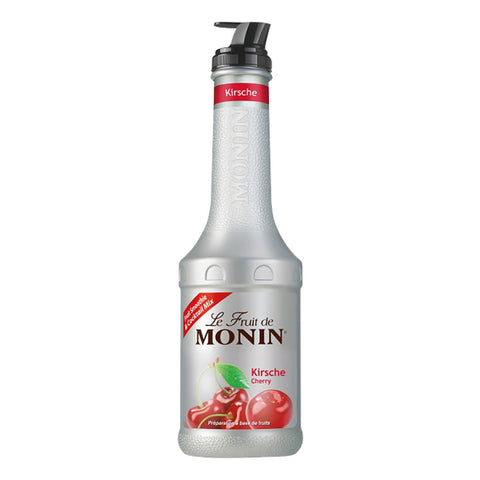 Monin Puree Cherry -1000ml Syrups - Drinkka Alcohol Delivery Best Whiskey Wine Gin Beer Vodkas and more for Parties in Makati BGC Fort and Manila | Bevtools Bar and Beverage Tools