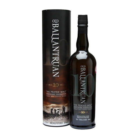 Old Ballantruan Peated Speyside 10 Years -700ml Whiskey - Drinkka Alcohol Delivery Best Whiskey Wine Gin Beer Vodkas and more for Parties in Makati BGC Fort and Manila | Bevtools Bar and Beverage Tools
