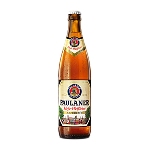 Paulaner Hefe Weisbier Bottle - 500ml Imported Beer - Drinkka Alcohol Delivery Best Whiskey Wine Gin Beer Vodkas and more for Parties in Makati BGC Fort and Manila | Bevtools Bar and Beverage Tools
