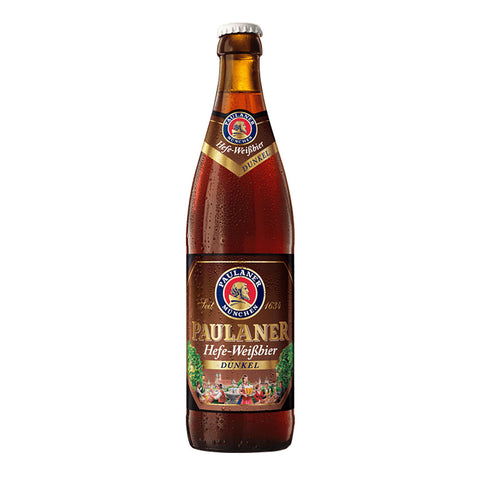 Paulaner Hefe Weisbier Dunkel Bottle - 500ml Imported Beer - Drinkka Alcohol Delivery Best Whiskey Wine Gin Beer Vodkas and more for Parties in Makati BGC Fort and Manila | Bevtools Bar and Beverage Tools