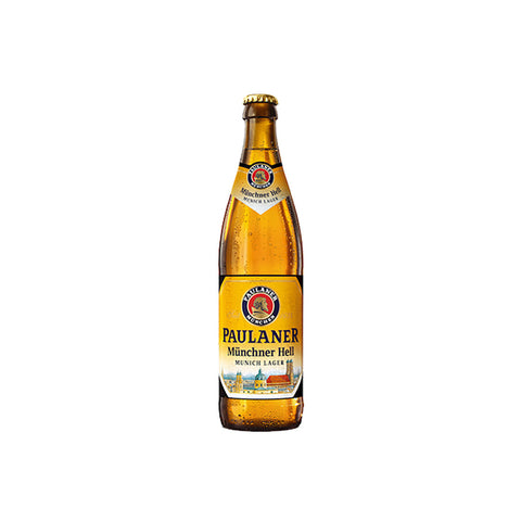 Paulaner Original Munchner Hell Bottle - 500ml Imported Beer - Drinkka Alcohol Delivery Best Whiskey Wine Gin Beer Vodkas and more for Parties in Makati BGC Fort and Manila | Bevtools Bar and Beverage Tools