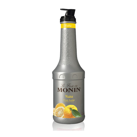 Monin Puree Yuzu -1000ml Syrups - Drinkka Alcohol Delivery Best Whiskey Wine Gin Beer Vodkas and more for Parties in Makati BGC Fort and Manila | Bevtools Bar and Beverage Tools
