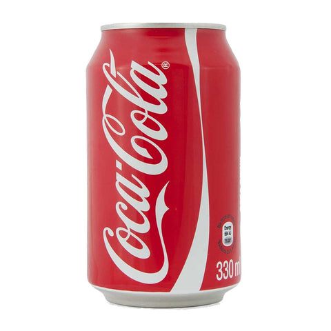Coke Regular Can 330ml