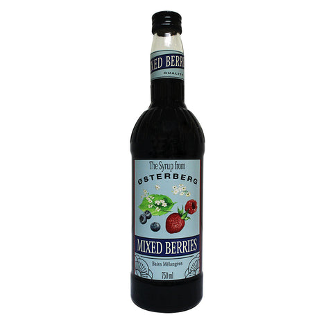 Osterberg Syrups Mixed Berries -750ml