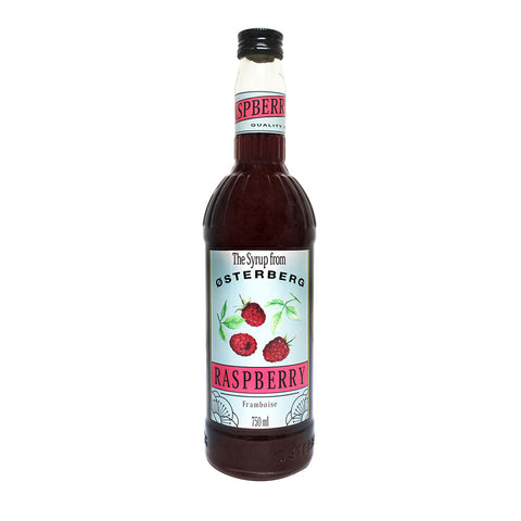 Osterberg Syrups Raspberry -750ml