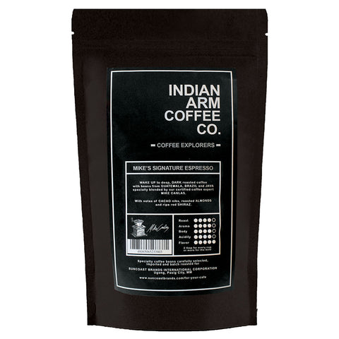 Indian Arm Coffee Mike's Signature Espresso 500 grams