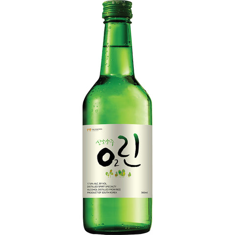 O2 Linn Soju Soju - Drinkka Alcohol Delivery Best Whiskey Wine Gin Beer Vodkas and more for Parties in Makati BGC Fort and Manila | Bevtools Bar and Beverage Tools