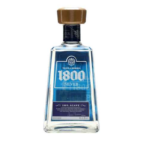 1800 Silver - 750ml - Bevtools Bar Tools and Alcohol Delivery