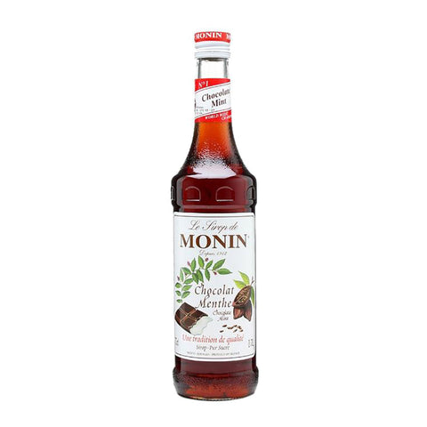 Monin Chocolate Mint -700ml Syrups - Drinkka Alcohol Delivery Best Whiskey Wine Gin Beer Vodkas and more for Parties in Makati BGC Fort and Manila | Bevtools Bar and Beverage Tools