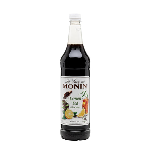 Monin Lemon Tea Syrup -700ml Syrups - Drinkka Alcohol Delivery Best Whiskey Wine Gin Beer Vodkas and more for Parties in Makati BGC Fort and Manila | Bevtools Bar and Beverage Tools