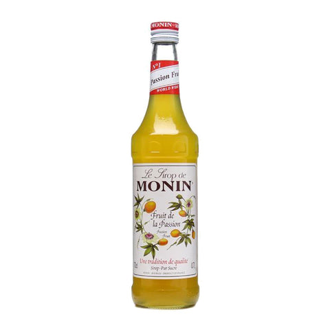 Monin Passion Fruit Syrup -1000ml Syrups - Drinkka Alcohol Delivery Best Whiskey Wine Gin Beer Vodkas and more for Parties in Makati BGC Fort and Manila | Bevtools Bar and Beverage Tools