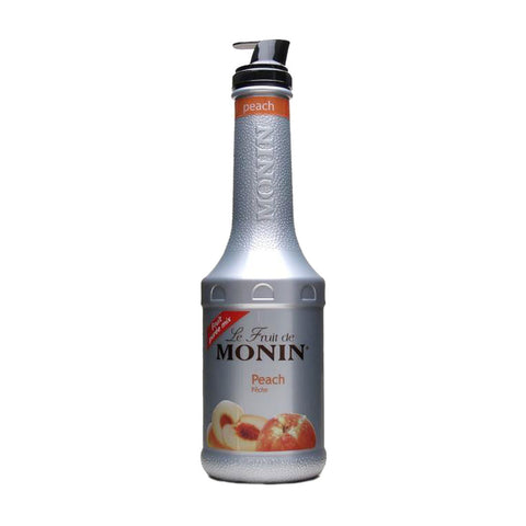 Monin Puree Peach -1000ml Syrups - Drinkka Alcohol Delivery Best Whiskey Wine Gin Beer Vodkas and more for Parties in Makati BGC Fort and Manila | Bevtools Bar and Beverage Tools