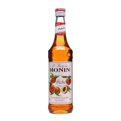 Monin Peach Syrup -1000ml Syrups - Drinkka Alcohol Delivery Best Whiskey Wine Gin Beer Vodkas and more for Parties in Makati BGC Fort and Manila | Bevtools Bar and Beverage Tools