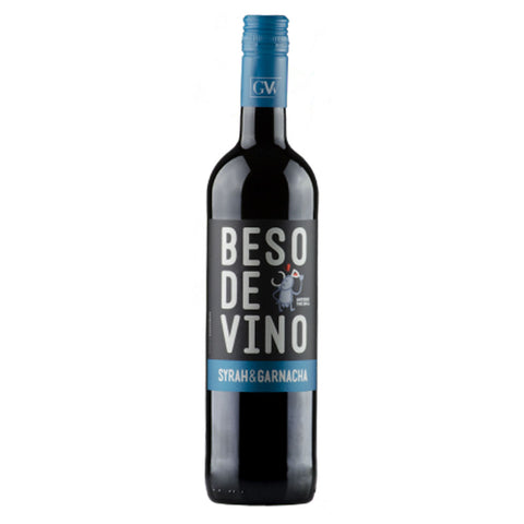 Beso De Vino Syrah & Garnacha - 750ml Red Wine - Drinkka Alcohol Delivery Best Whiskey Wine Gin Beer Vodkas and more for Parties in Makati BGC Fort and Manila | Bevtools Bar and Beverage Tools
