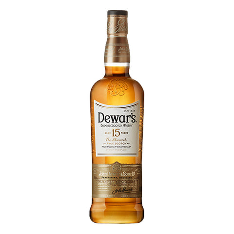 Dewar's 15 Years - 750ml - Bevtools Bar Tools and Alcohol Delivery