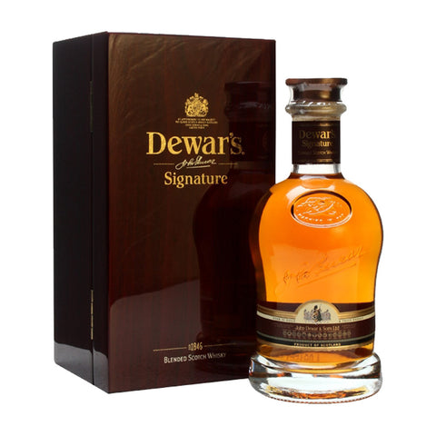 Dewar's Signature - 700ml - Bevtools Bar Tools and Alcohol Delivery
