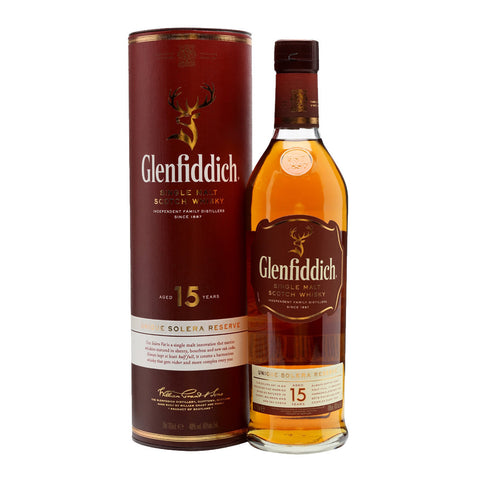 Glenfiddich 15 Years Speyside Single Malt Scotch Whisky - 750ml Whiskey - Drinkka Alcohol Delivery Best Whiskey Wine Gin Beer Vodkas and more for Parties in Makati BGC Fort and Manila | Bevtools Bar and Beverage Tools