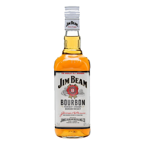 Jim Beam White - 750ml - Bevtools Bar Tools and Alcohol Delivery