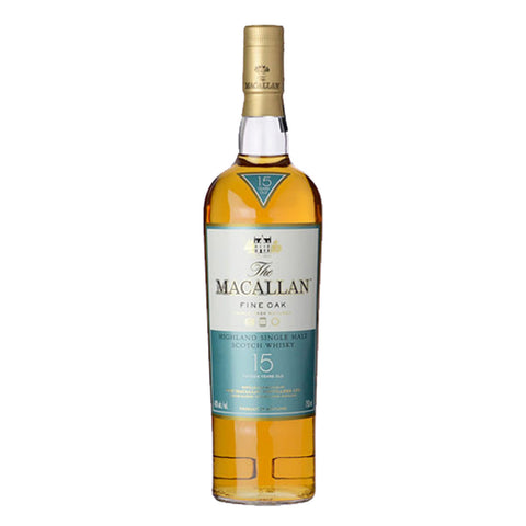 Macallan 15 Years Fine Oak Speyside Single Malt Scotch Whisky - 700ml Whiskey - Drinkka Alcohol Delivery Best Whiskey Wine Gin Beer Vodkas and more for Parties in Makati BGC Fort and Manila | Bevtools Bar and Beverage Tools
