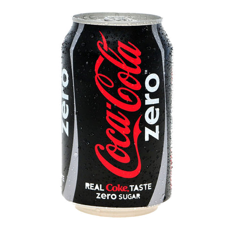 Coke Zero Can 330ml
