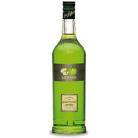 Giffard Green Apple (Pomme Verte) Syrup - 1000ml Syrups - Drinkka Alcohol Delivery Best Whiskey Wine Gin Beer Vodkas and more for Parties in Makati BGC Fort and Manila | Bevtools Bar and Beverage Tools