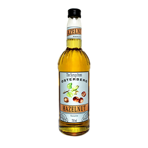 Osterberg Syrups Hazelnut -750ml Syrups - Drinkka Alcohol Delivery Best Whiskey Wine Gin Beer Vodkas and more for Parties in Makati BGC Fort and Manila | Bevtools Bar and Beverage Tools