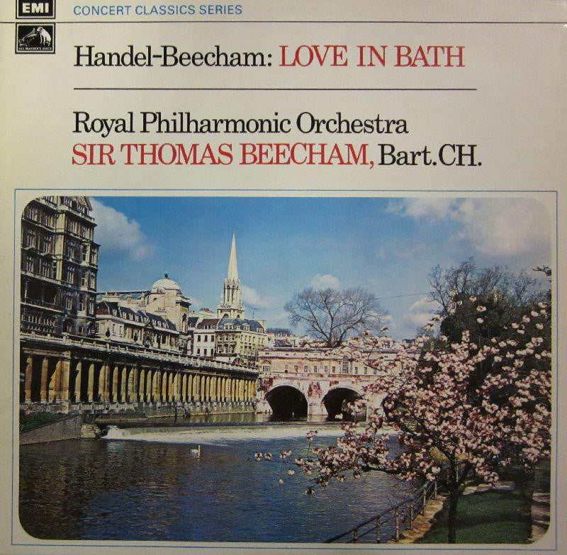 Handel-Beecham-Love in Bath-HMV/EMI-Vinyl LP