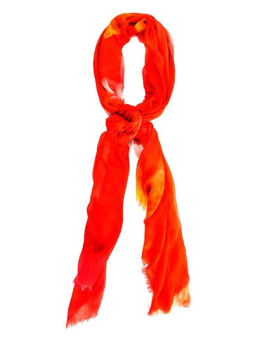 Amaryllis - Designer Luxury scarf by Sheila Johnson Collection