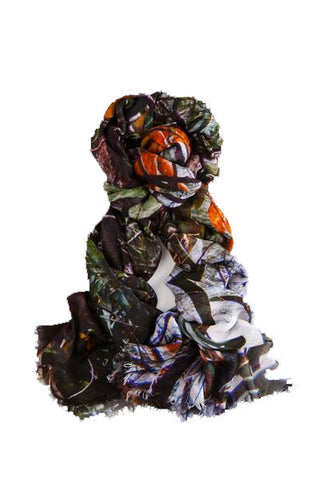 Verde - Designer Luxury scarf by Sheila Johnson Collection