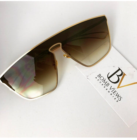 Brown Vice Sunglasses