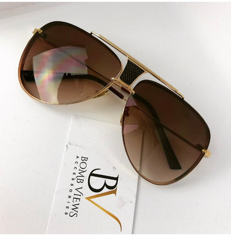 Rimz Brown Sunglasses