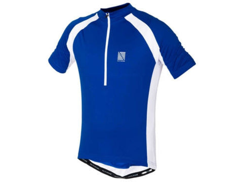 ALTURA Airstream Men's Short Sleeve Cycling Jersey Blue/White