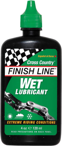 FINISH LINE - WET Cycle Chain Lubricant 8oz / 240ml Workshop Bottle