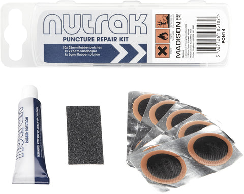NUTRAK Essential Puncture Repair Kit - Road / MTB / Commuter