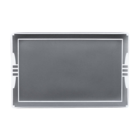 "11"" x 17"" Graphite Bordered Architect Platter"