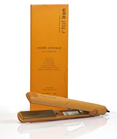flat iron for textured hair