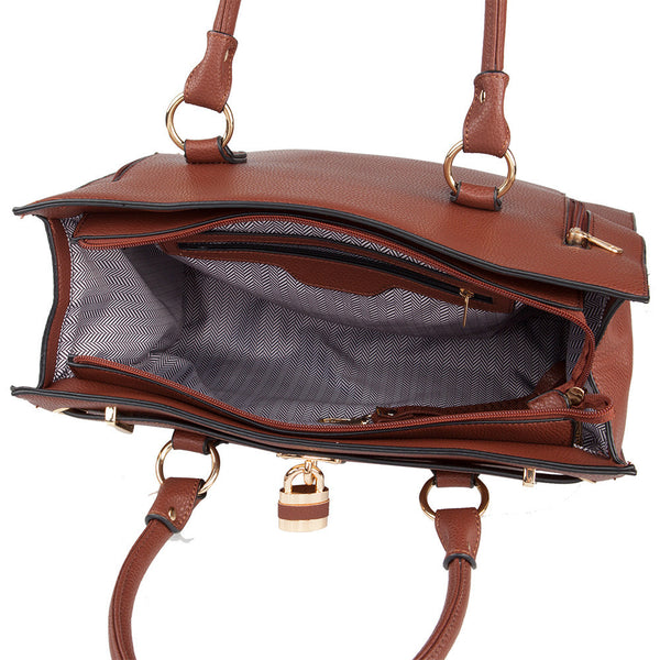 The Dina Concealed Carry Satchel w/Wallet - Undertech Undercover