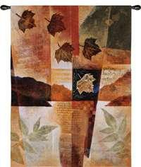 "Autumn Melody I - 40"" x 53"" Tapestry Wall Hanging"
